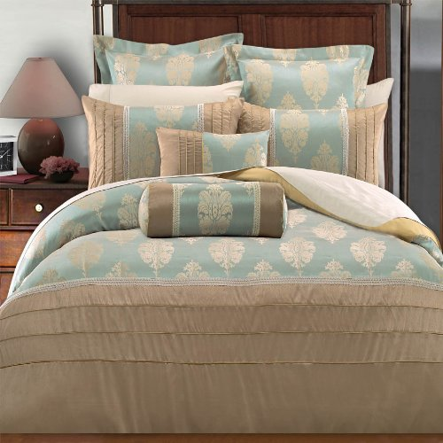 Egyptian Bedding Stephanie 7PC Queen Size Duvet covers set