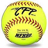 "Dudley 12"" CFP CFP NFHS Leather Fastpitch Softball - Pack Of 12, 12""/"