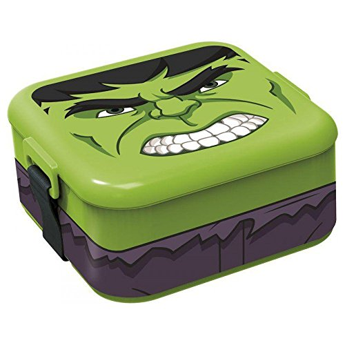 Avengers Hulk Box colazione merenda lunch box
