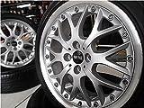 【中古ホイール 17インチ & 中古タイヤ 205/45R17】【中古ホイール 17インチ & 中古タイヤ 205/45R17】 BMWミニ フィット デミオ カローラフィールダー