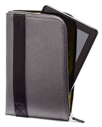 """Amazon Kindle Fire HDX 7"""" Zip Sleeve, Graphite (fits the Kindle Fire HD and HDX 7"""")"""