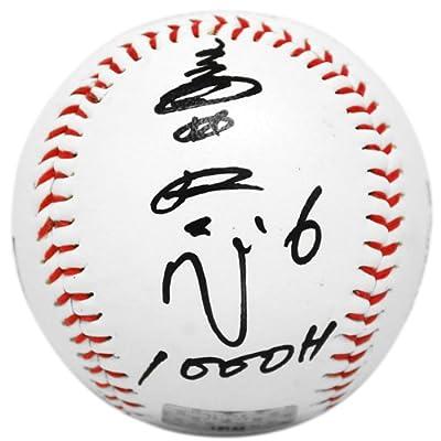 (ビービーエム)BBM 福岡ソフトバンクホークス #6 多村仁志 通算1000安打達成記念 直筆サイン入りボール -
