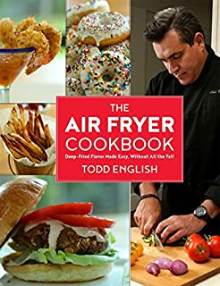 Book Cover: Air fryer cookbook : deep-fried flavor made easy, without all the fat!.