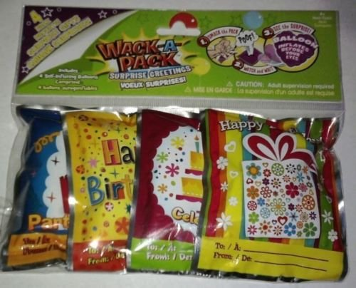 Whack a Pack Birthday Balloons