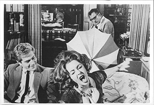 "Fotografica Vintage ""Chi è afraid of Virginia Wolf"" Richard Burton George Segal e Elizabet Taylor."