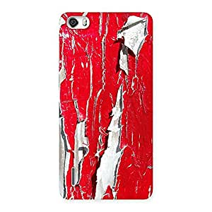 Ajay Enterprises WoRed Ripped Paint Print Back Case Cover for Honor 6