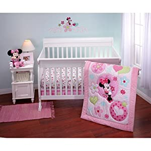 Amazon Com 3pc Baby Girl Disney Pink Minnie Mouse Heart