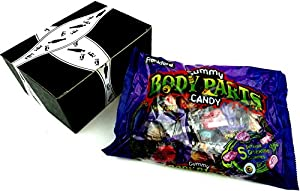 Frankford Gummy Body Parts Candy, 6.6 oz Bag in a Gift Box