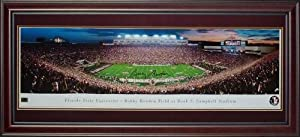 Bobby Bowden Autographed Florida State FSU Seminoles (Bobby Bowden Field) Deluxe... by PalmBeachAutographs.com