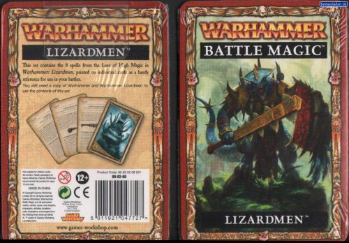 Warhammer Battle Magic Lizardmen - 1