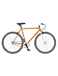 Viking Rio Fixed Wheel Bike - Orange, 53 cm