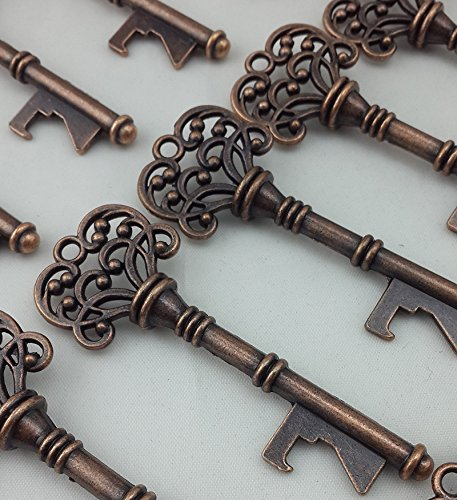 40PCS Bottle Openers Copper Wedding Favors Rustic Decoration