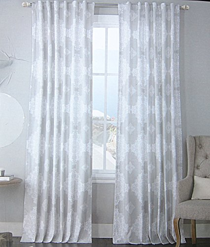 Envogue Marlo Window Curtains Panels Damask Paisley Bohemian ...