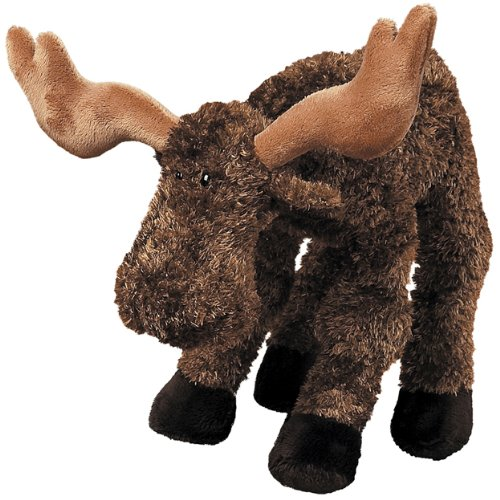 "Mary Meyer Willy Wobbles, Moose, 10"" front-938898"