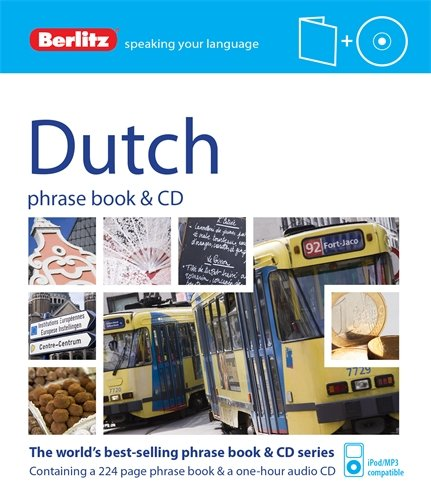 Dutch. Phrase Book (+ CD) (Berlitz Phrase Book & CD)