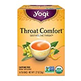 Yogi Tea, Throat Comfort, 16 Count, Packaging May Vary