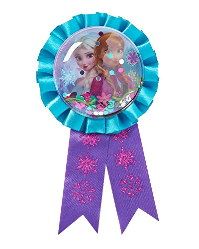 Frozen Party Accessories, Ribbon Badge, Party Supplies