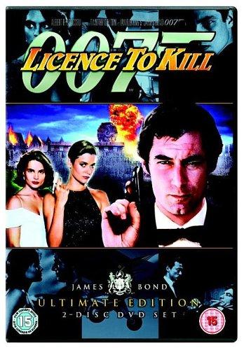 James Bond - Licence to Kill (Ultimate Edition 2 Disc Set) [DVD] [1989]