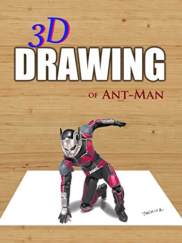 Clip: 3D Drawing of Ant-Man
