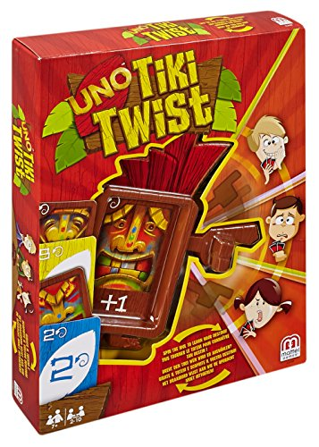 Uno Tiki Twist Card Game - 1