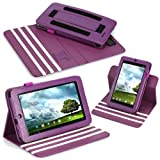 Poetic DuraBook Case for Asus Memo Pad ME172V 7-Inch Android Tablet Purple (3 Year Manufacturer Warranty From Poetic)