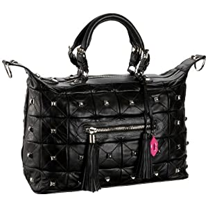 Betsey Johnson So Quilty Large Satchel