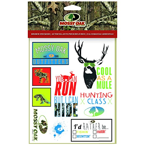 Mossy Oak Binder Stickers Kids School Stickers 1 Sheet
