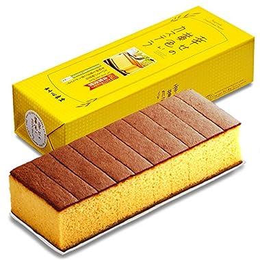 長崎心泉堂 長崎カステラ 幸せの黄色いカステラ 10切カットタイプ (560g)
