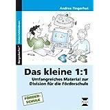Das kleine 1:1: Umfangreiches Material zur Division für die Förderschule (3. und 4. Klasse)