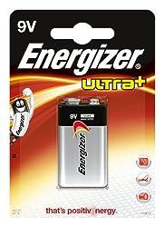 Energizer Ultra+ 9V Battery by Energizer Batteries