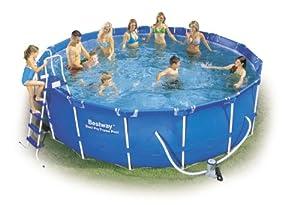 Piscina fuori terra bestway steel pro frame rotonda - Amazon piscine fuori terra ...