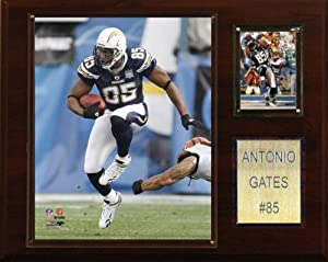 NFL Antonio Gates San Diego Chargers Player Plaque by C&I Collectables