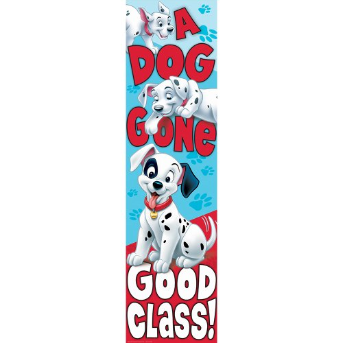 Eureka 101 Dalmatians Dog Gone Good Class Vertical Banner