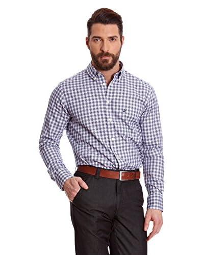 Macson Camicia Uomo [Blu]