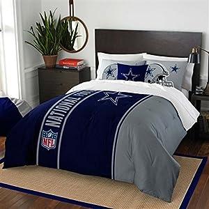 amazon com dallas cowboys full comforter shams set