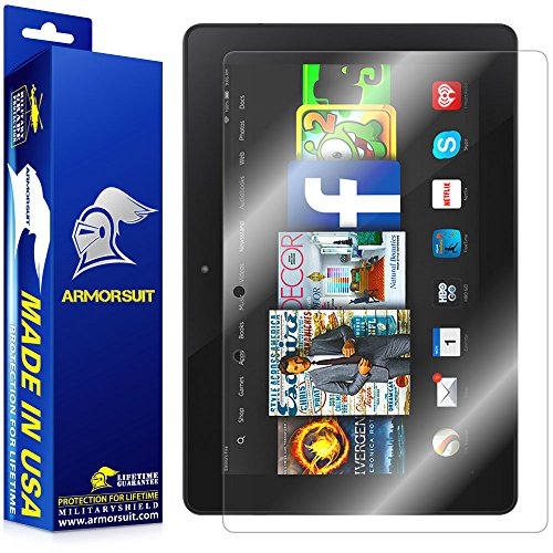 ArmorSuit MilitaryShield – Amazon Kindle Fire HDX 8.9″ Screen Protector Shield Ultra Clear + Lifetime Replacements