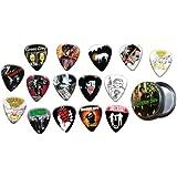 Green Day 15 X Guitar Picks with Tin ( Gold Range Plectrums )