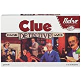 Clue Classic Detective Board Game Retro Series Reissue