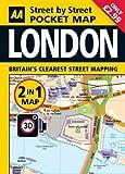 London Pocket Map (Aa Street By Street)