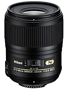 Nikon AF-S FX Micro-NIKKOR 60mm f/2.8G ED Fixed Zoom Lens with Auto Focus for Nikon DSLR Cameras
