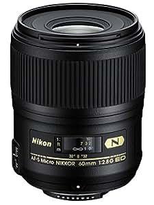 Nikon 60mm f/2.8G ED Auto Focus-S Micro-Nikkor Lens for Nikon DSLR Cameras - Fixed