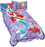 ディズニー Disney リトルマーメイド Little Mermaid スーパーソフト ブランケット Blanket [並行輸入品]