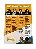 Updated: The Artist Bundle 4 Pack Super Value Manga Studio, Anime Debut, Poser, Motion Artist for Beginner Animators