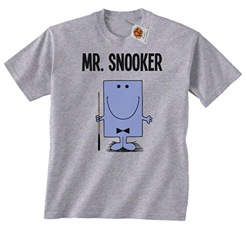 `Mr Snooker`childrens hobbies/sports boys perfect snooker gift t shirt