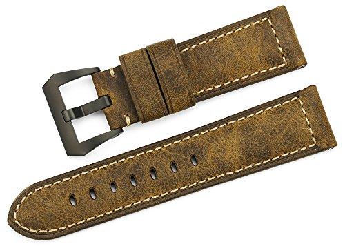 istrap-24-mm-pelle-munizioni-viti-in-acciaio-pvd-nero-tang-fibbia-cinturino-cinturino-per-orologi-mi