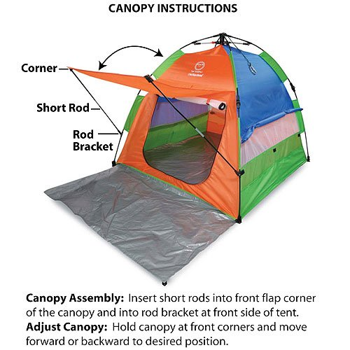 Sun Smarties Play Anywhere Play Tent