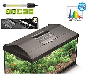 aquarien abdeckung leddy mit led beleuchtung f r 60 cm aquarien pet supplies. Black Bedroom Furniture Sets. Home Design Ideas