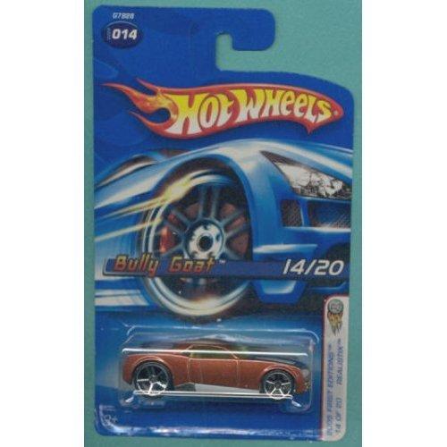 Mattel Hot Wheels 2005 1:64 Scale Brown Bully Goat Die Cast Car #014 - 1