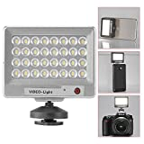 Luz LED Bestlight S60 Ultra-thin Mini LED para video con 32 luces LED para cámaras digitales Canon, Nikon, Sony, Olympus y teléfonos móbiles