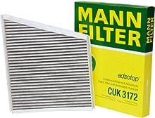 Mann-Filter CUK 3172 Filtro, Aire Habitáculo